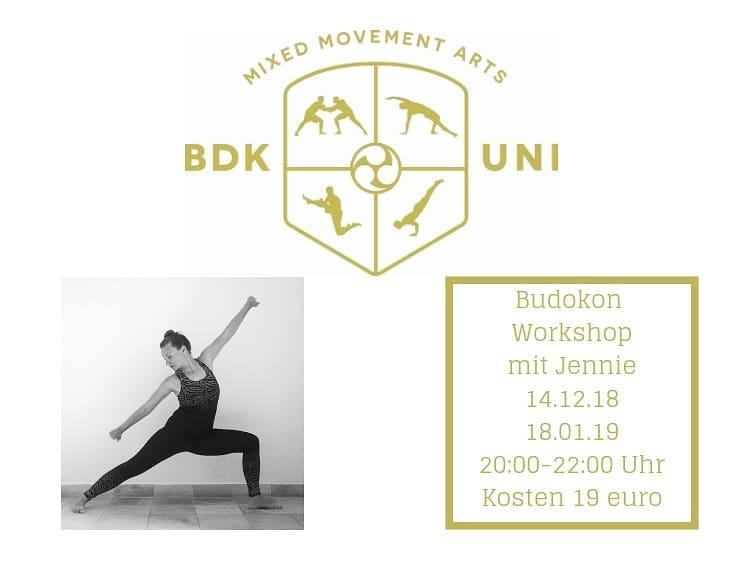 Budokon Yoga Workshop 30.11.2018 im UrbanYoga München